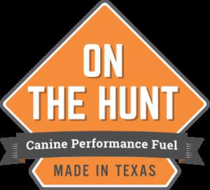 On The Hunt Dog Food Logo